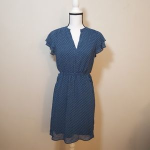 H & M dress blue size #-4